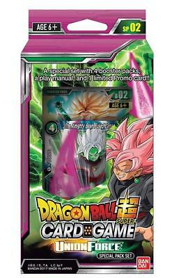 Dragon Ball Super Union Force Special Pack 2 Promo Sealed Wave 1 Preorder 3 Nov