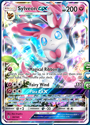 Complete Sylveon Control Post-Rotation Standard Deck Pokemon TCG Online PTCGO
