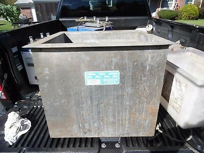 Stainless Steel Heated 20 gallon Tank