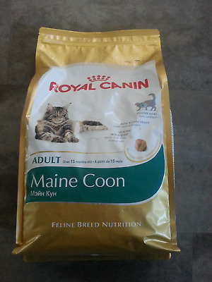 Sac 4kgs croquettes Royal Canin chat Maine Coon Adulte