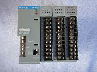 Gould PC-0085-102 CPU w//DI1133 and DO1136