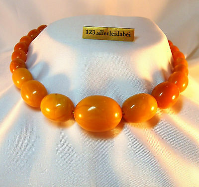 Top Color alte Butterscotch Bernstein Kette Bernsteinkette real amber / AZ 861
