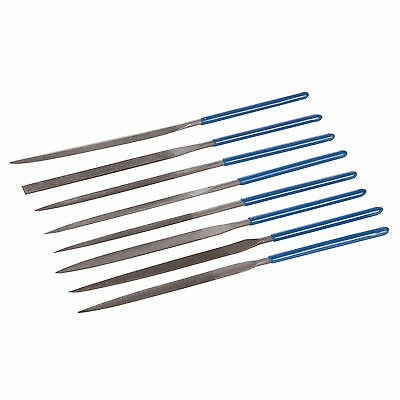Silverline Needle Files Set 140MM long 10 Pack with storage pouch MS100
