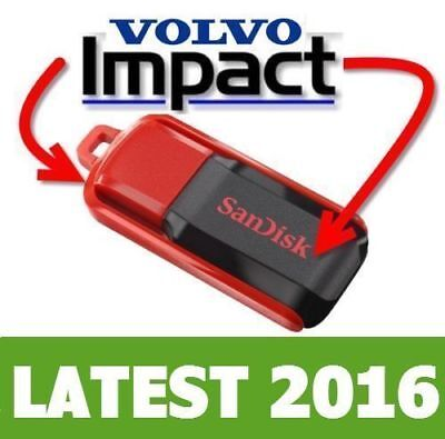 2016 Volvo IMPACT Trucks Buses Workshop Repair **Supplied on USB Memory Drive**
