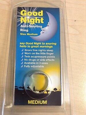 Good Night Anti-Snoring Ring (medium)
