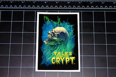 Tales From the Crypt crypt keeper 80's 90's retro decal sticker Horror Halloween