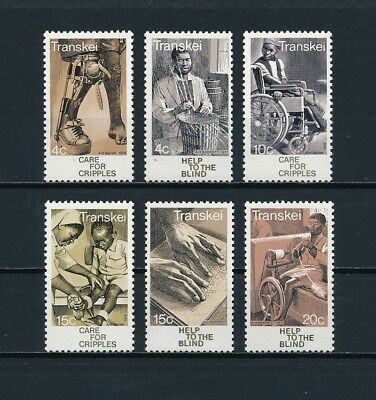 Transkei   38-43 MNH, Care for the Handicapped, 1978