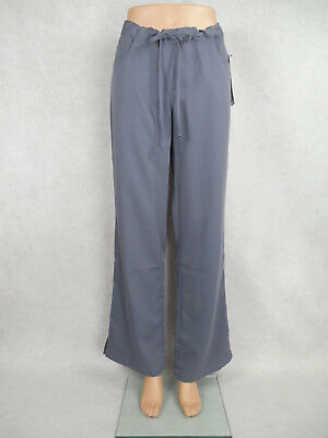 Grey's Anatomy 5-pocket Drawstring Scrub Pants #4232 Granite **NEW** ~Free Ship~