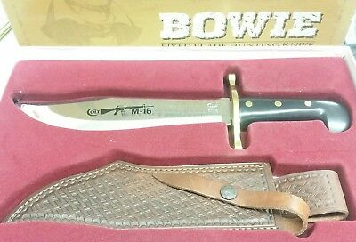 Case XX Hunter Bowie knife, Colt M16 Commemorative 2011 New in box