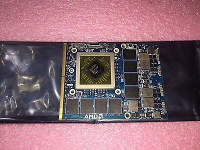 Alienware 17 18 AMD HD 7970M 2GB GDDR5 Video Card M17X R4 R5 M18X R1 R2