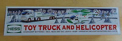 MIB Hess 2006 TRUCK AND HELICOPTER Nice!