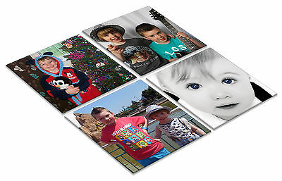 30 Custom Printed Photo Coasters Wedding Joblot Party Favours Christening Cafe