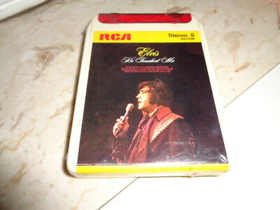 """He Touched Me"" Elvis Presley  Cassetta Stereo 8 RCA"