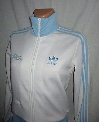 LOVELY Women's ADIDAS ARGENTINA BUENOS AIRES City Series Tracksuit top sz 10