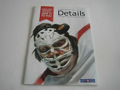 October/november 2015 Details Canada Post Order Booklet***ken Dryden***