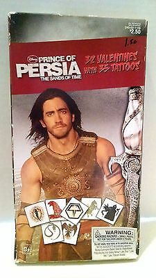 Prince of Persia Valentines Cards 32 w/ Tattoos Jake Gyllenhaal Sands of Time