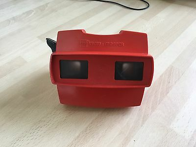 GAF Red View-Master, Made in Belgium, fully working 1980s