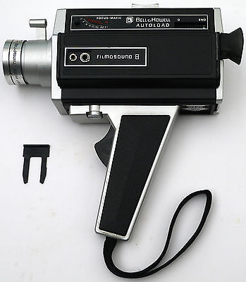 Caméra Bell & Howell Filmosound 8 Autoload Focus Matic (1970)