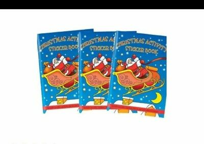 Christmas sticker books