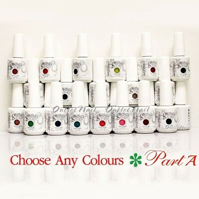 GELISH HARMONY - PART A Soak Off Gel Nail Polish UV Nail - Pick ANY Color
