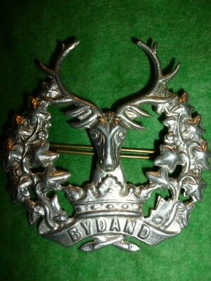 The Gordon Highlanders Cap Badge, Scottish interest