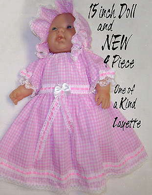 @//(^_^)\@  BERENGUER   LARGE   DOLL  +   NEW one of a kind outfit