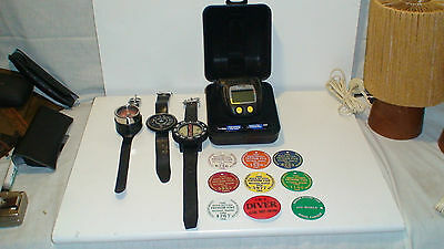 Dacor - Darwin Diving Decompression Pc Watch.scuba  Extremely Rare-Made In Italy