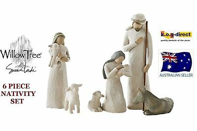 Willow Tree 6 PIECE NATIVITY SET By Susan Lordi By Demdaco NEW IN BOX
