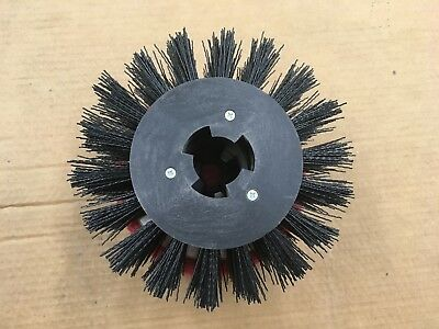 "Motor Scrubber Baseboard Stripping Brush, 8""  NEW"