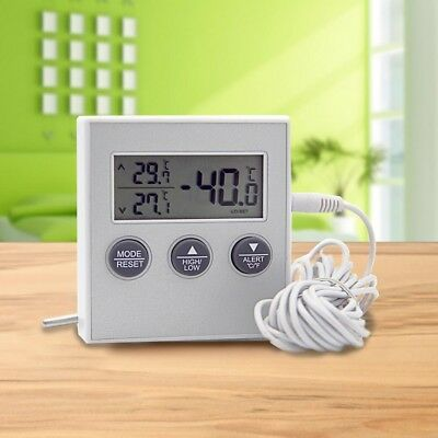 Refrigerater Electronic Digital Display Thermometer High Low Temperature Alarm..