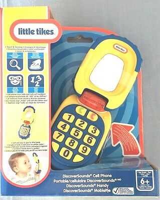 Little Tikes Cell Mobile Phone Discover Sounds New