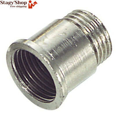 Wolfpack 4020056 – Rehausse ronde Chrome 1/2 x 50