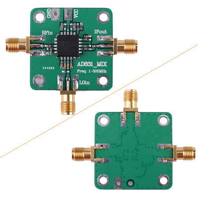 1pc AD831 High Frequency RF Mixer Inverter Module 0.1-500MHz 9-11V single ended