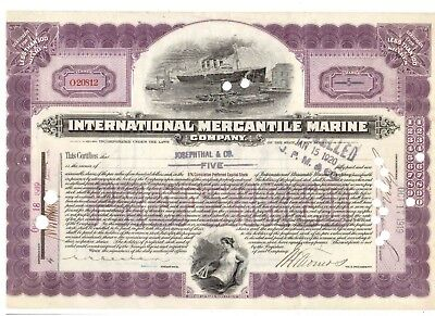 IMM International Mercantil Marine 1919 Titanic White Star Line
