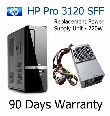HP Pro 3120 (SFF) Replacement 220W Power Supply Unit 504965-001 HP-D2201C0