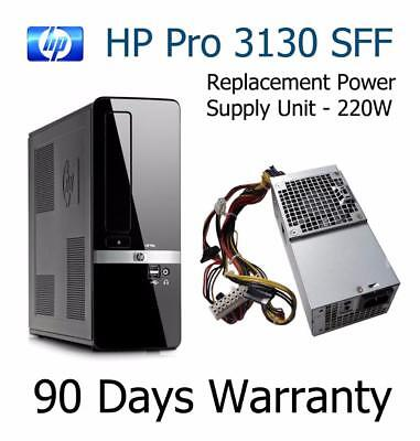 HP Pro 3130 (SFF) Replacement 220W Power Supply Unit 504965-001 HP-D2201C0