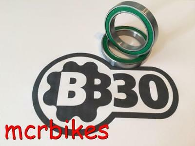 BB30 Bearings (X2) Steel /Chrome/ Stainless /Ceramic Cannondale -FSA -Race Face
