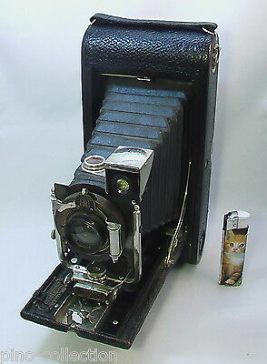 FOTOCAMERA A SOFFIETTO ANTICA KODAK MODEL B-5 folding pocket bellows camera