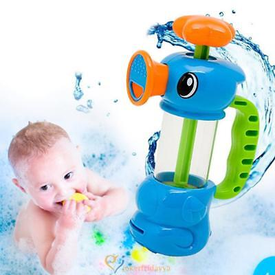 Baby Bath Water Toys Pumping Design Colourful Hippocampal Shape
