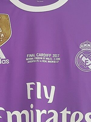 ISCO real madrid Champions League Jersey, BNWT XL