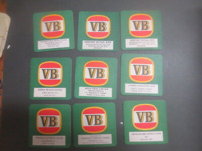 9 different VICTORIA BITTER Special Issue, , BEER COASTER