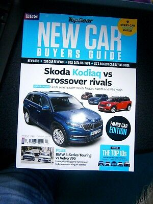 Top Gear New Car Buyers Guide Volume 30 (new) 2017  Family Car Edition