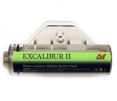 NEW Minelab Excalibur Alkaline Battery Holder  - DETECNICKS LTD