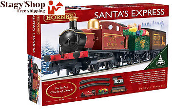 Hornby R1185 Santa's Express Christmas Train Set by