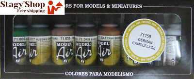 Vallejo Model Air Allemand Camouflage Set de peinture acrylique pour air...