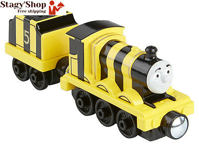 Thomas et ses Amis – Take-N-Play Busy Bee James Locomotive Die-Cast + Wagon