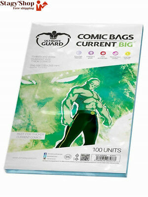 "Ultimate Guard ""Big"" Comic Sacs (courant, Transparent)"