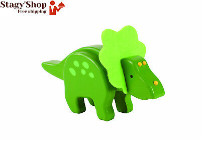 Everearth - Ee33572 Figurine Dinosaure Bambou Triceratops