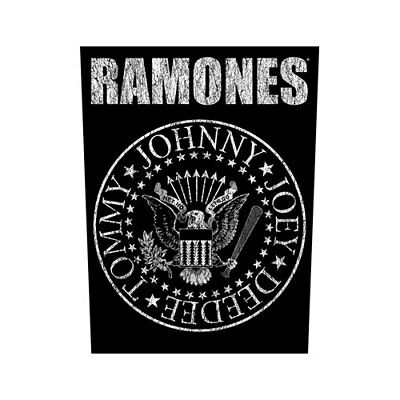 Ramones Classic Seal Back Patch Sew On Official Badge Album Band Punk Rock Retro