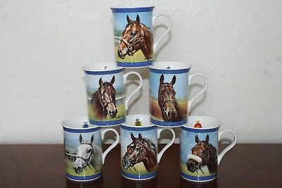 Racing Legends - China Mugs - Complete Set